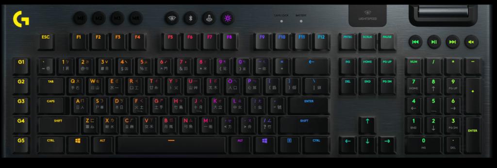 羅技G913短軸機械式鍵盤