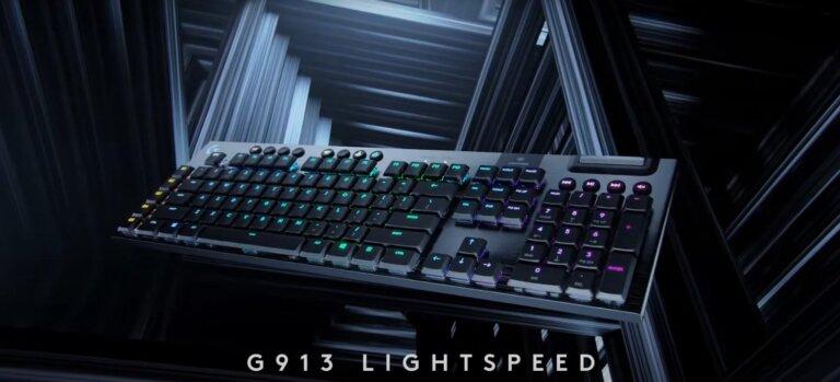 【羅技G913短軸機械式鍵盤】5分鐘帶你了解G913短軸機械式鍵盤