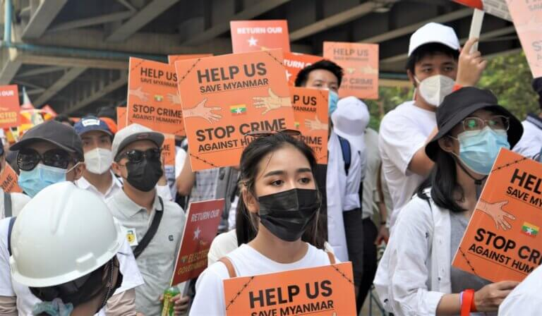 【Emergency call from Myanmar】2 minutes to get you up to speed on the situation in Myanmar